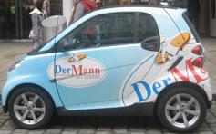 Auto Werbefläche